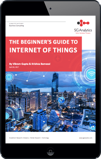 The Beginner's Guide to Internet of Things - SG Analytics